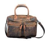 Buffelleren westernbag XL, cognac - Arrigo