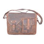 Buffelleren messenger bag cognac - Arrigo