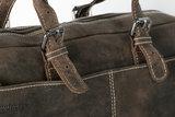 Donkerbruin Leren Messenger Bag - Arrigo