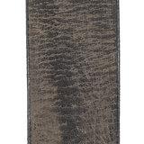 Antraciet grijze riem van echt leer - 3 cm breed - Arrigo.nl
