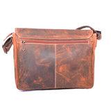 Messenger bag XL cognac buffelleer - Arrigo