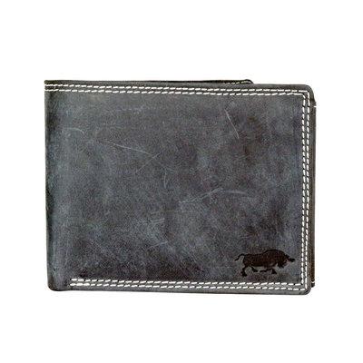 Buffalo billfold men's wallet in the color black