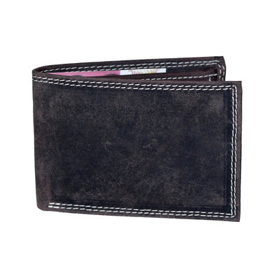 Buffalo billfold wallet, low model in the dark brown color
