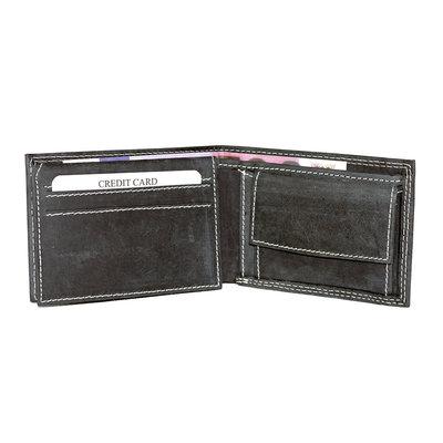 Buffalo billfold wallet, low model in the black color