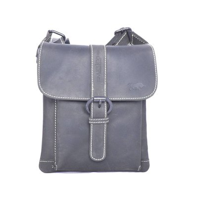 SMOOTH AND BUCKLED shoulderbag