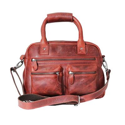 Rundleren medium westernbag, rood
