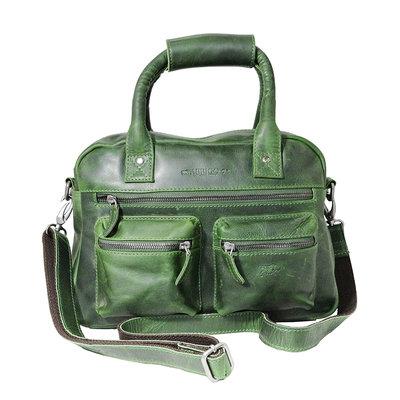 Rundleren medium westernbag, groen