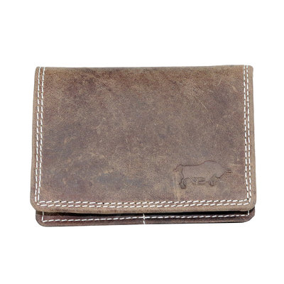Buffalo wallet, RFID, cognac medium size