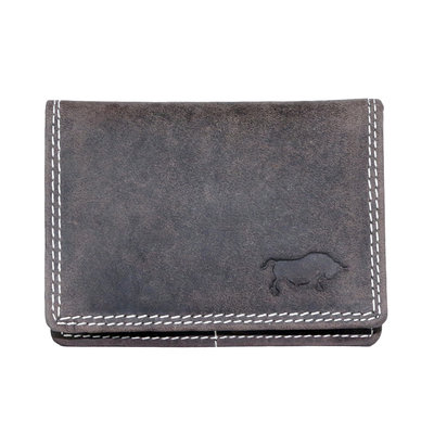 Buffalo wallet, dark brown medium