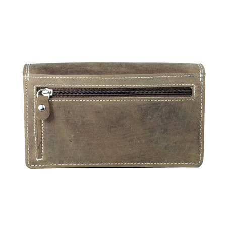 Leather Wallet For Ladies With RFID Protection