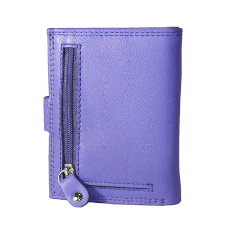 Anti skim card holder in the color violet