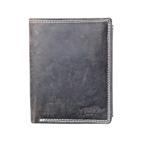 Men's Wallet With RFID In Dark Brown Leather
