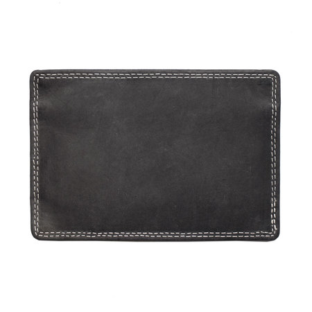 Credit Card Holder - Black Leather Card Holder