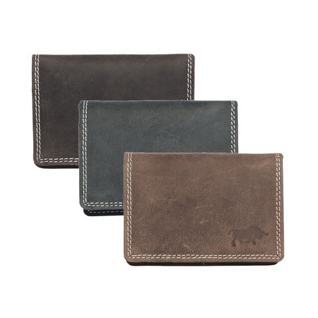 Leather Wallet For Women In The Color Cognac