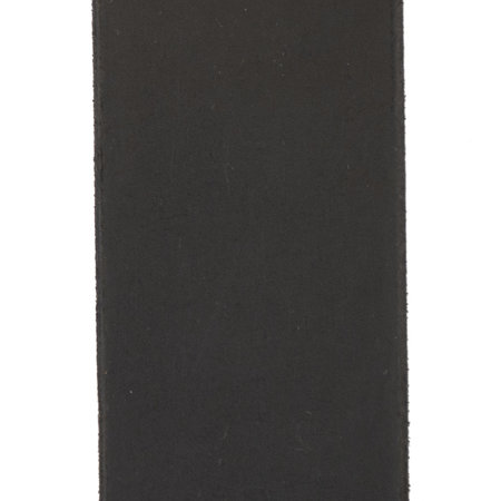 Leren Heren Riem Gemaakt Van Zwart Leer - 4 cm Breed