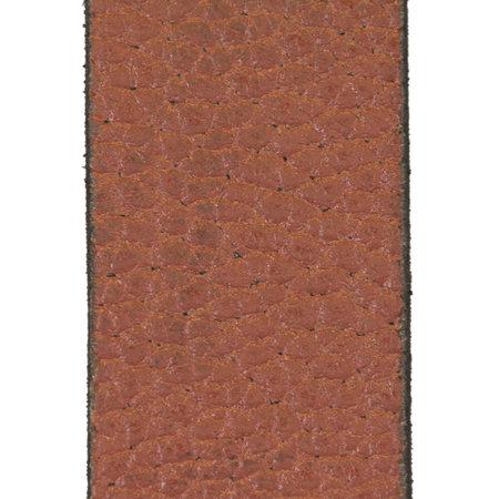 Lichtbruine Leren Riem Gemaakt Van Echt Leer - 3.5 cm Breed