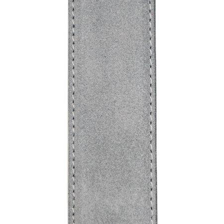 Suede Riem Grijs • Met Een Stijlvolle Zilverkleurige Gesp