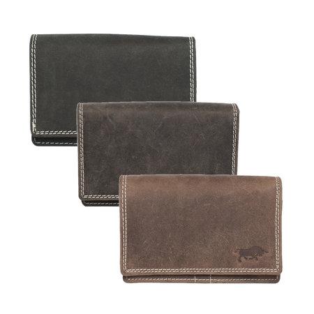 Dames Portemonnee Met RFID Van Zwart Leer