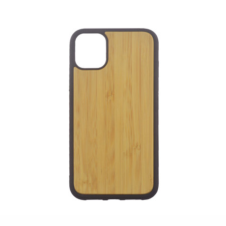 iPhone 11 Case made of TPU and Bamboo Wood