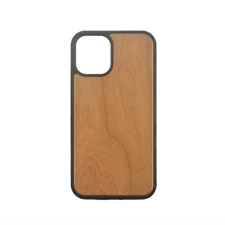 iPhone 11 Case made of TPU and Cherry Wood