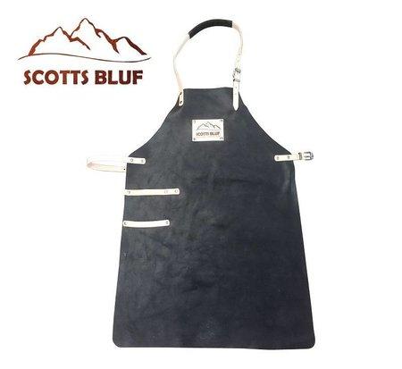 BBQ Schort Scottsbluf zwart