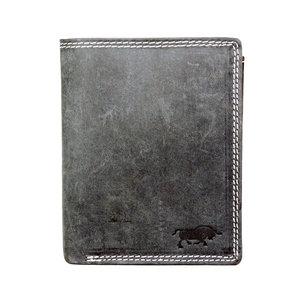 Arrigo buffelleren billfold RFID portemonnee, zwart