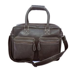Buffelleren westernbag XL zwart - Arrigo