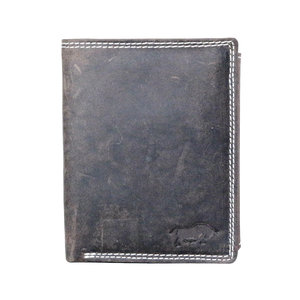 Arrigo buffelleren billfold RFID portemonnee, donkerbruin