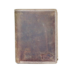 Arrigo buffelleren billfold RFID portemonnee, cognac