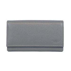Grijze dames portemonnee met knipsluiting van Arrigo