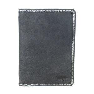 Arrigo heren portemonnee van zwart buffelleer