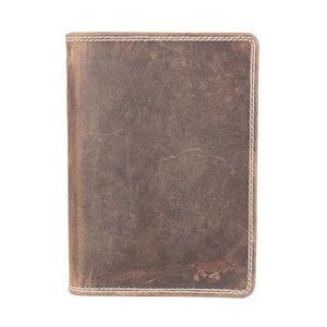 Arrigo heren portemonnee van naturel buffelleer