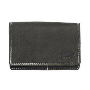 Zwart Leren Portemonnee Voor Dames - Arrigo