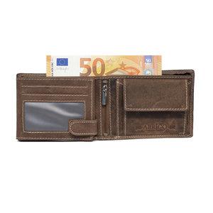 Heren portemonnee met RFID bescherming - Arrigo.nl