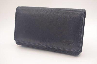 extra grote antraciet Anti Skim portemonnee