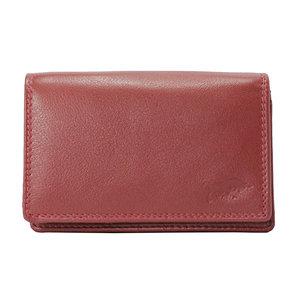 Dames portemonnee van donkerrood leer - Arrigo.nl