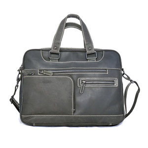 Messenger bag zwart buffelleer -  Arrigo